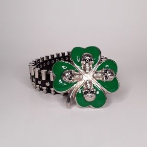 Like NEW! Hot Topic St. Patrick's Day Belt